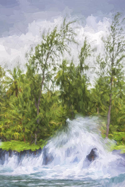Digital Art -  Violent Waters II by Jon Glaser