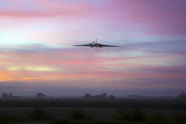 Vulcan Bomber Photograph -  Vulcan Dawn by Jason Green