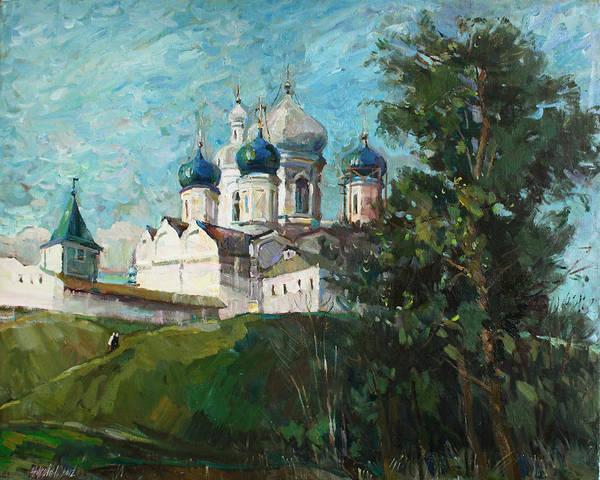 Ortodox Wall Art - Painting -  Welcome To Russia by Juliya Zhukova