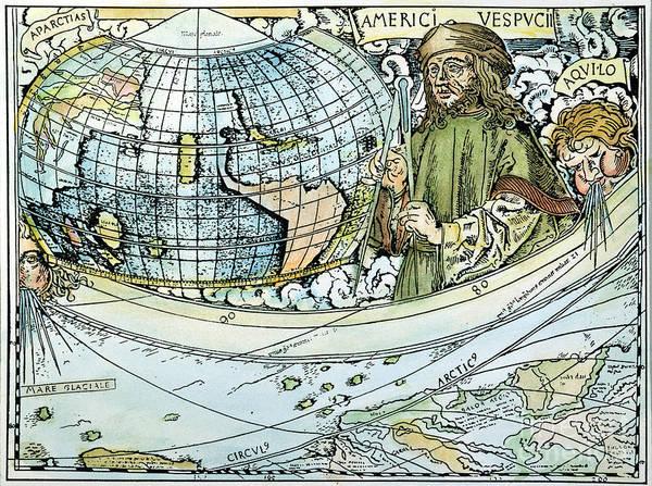 Painting - Amerigo Vespucci (1454-1512) by Granger