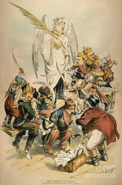 Painting - Otto Von Bismarck by Granger