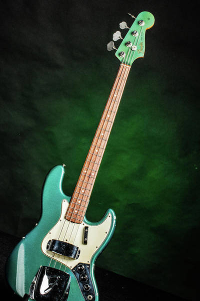 Photograph - 001.1834 Fender 1965 Jazz Bass Color by M K Miller