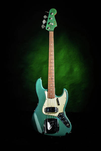 Photograph - 003.1834 Fender 1965 Jazz Bass Color by M K Miller