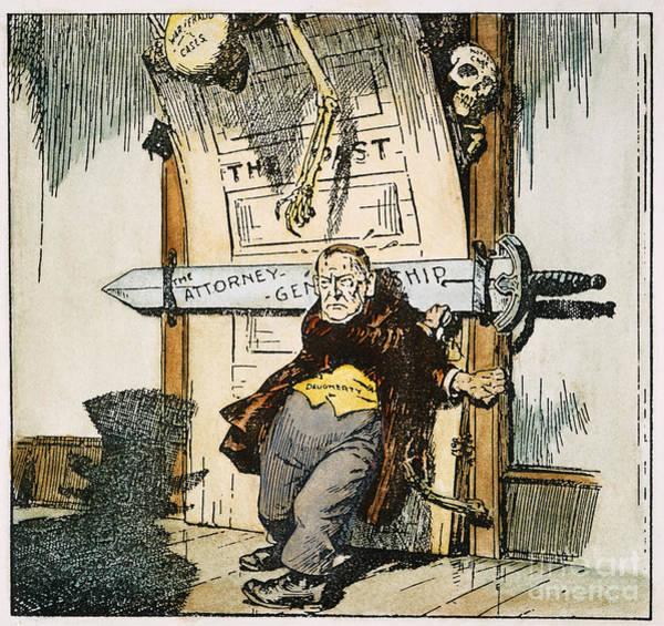 Painting - Skeletons Of Malfeasance by Granger