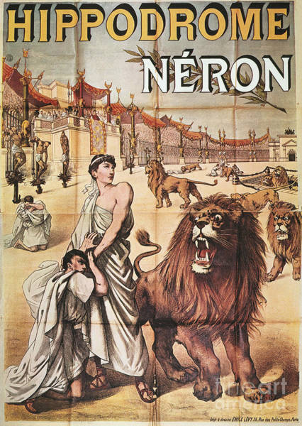 Painting - Circus Poster, C1887 by Granger