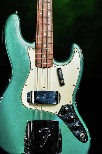 Photograph - 007.1834 Fender 1965 Jazz Bass Color by M K Miller