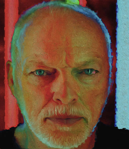 David Gilmour Painting - 0087,gilmour By Nixo by Never Say Never