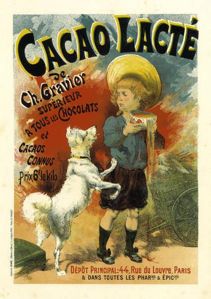 Painting - Cacao Lacte by Lucien Lefevre