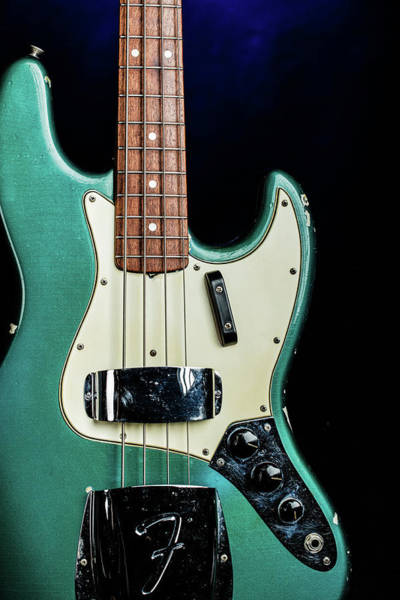 Photograph - 009.1834 Fender 1965 Jazz Bass Color by M K Miller
