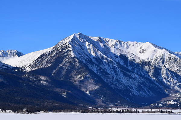 Photograph - Twin Lakes Mountains Leadville Co by Margarethe Binkley