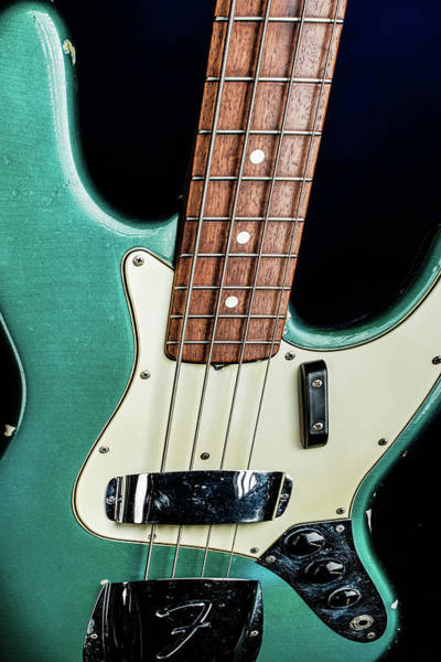 Photograph - 010.1834 Fender 1965 Jazz Bass Color by M K Miller