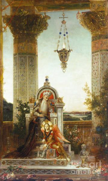 Painting - Moreau: King David by Granger