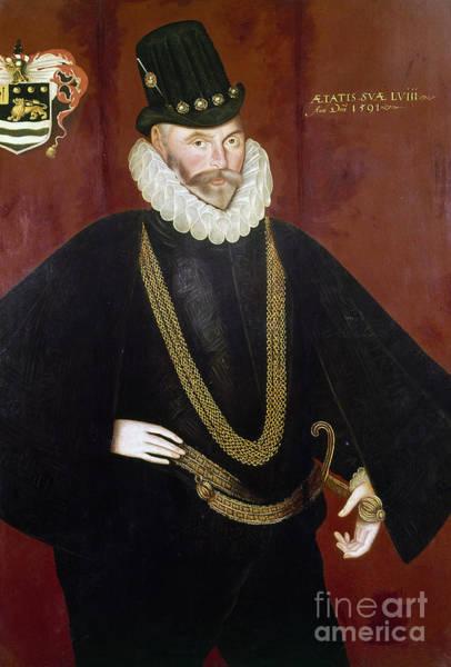 Painting - Sir John Hawkins by Granger