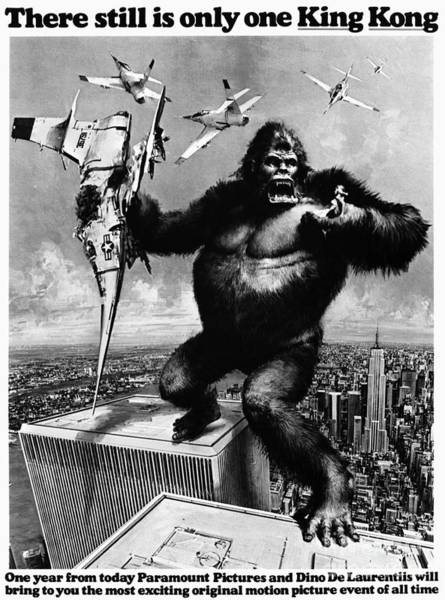 Aod Painting - King Kong, 1976 by Granger