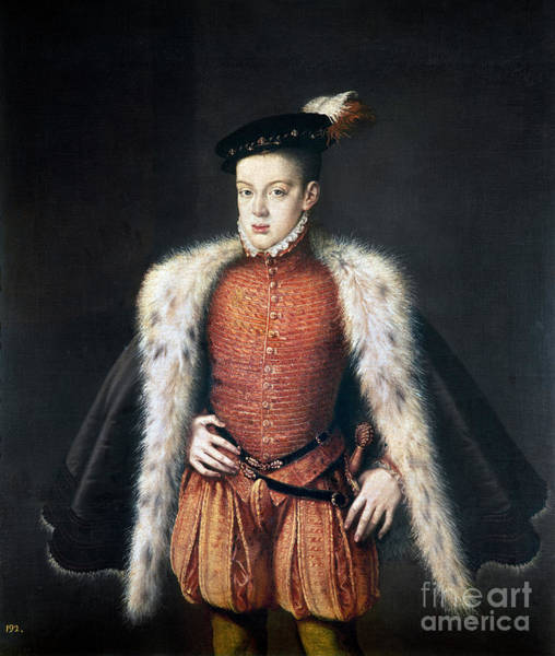 Painting - Carlos, Prince Of Asturias by Granger