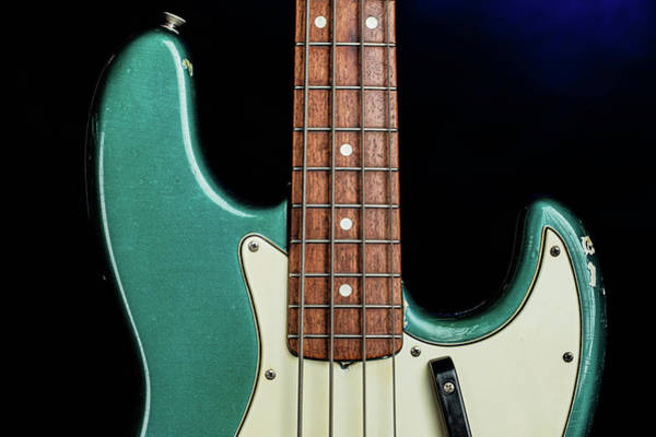 Photograph - 013.1834 Fender 1965 Jazz Bass Color by M K Miller