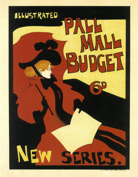 Mall Painting - Pall Mall Budget by Maurice Greiffenhagen