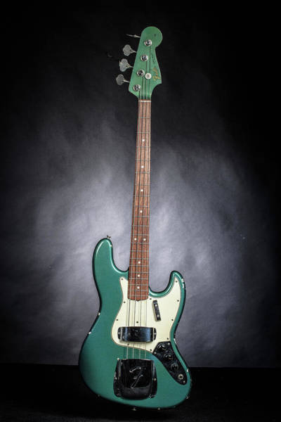 Photograph - 018.1834 Fender 1965 Jazz Bass Color by M K Miller