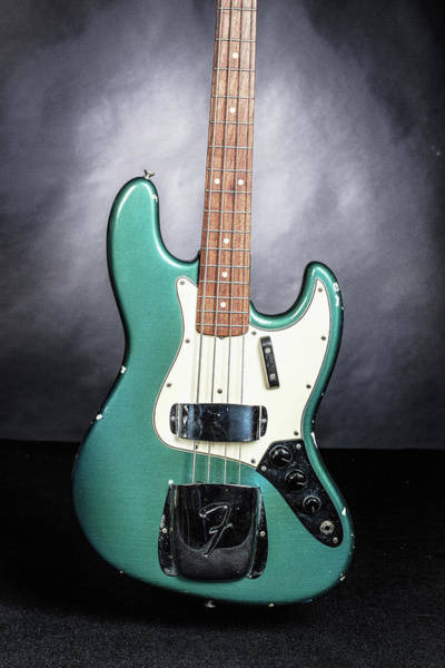 Photograph - 019.1834 Fender 1965 Jazz Bass Color by M K Miller
