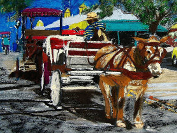 Painting - 021116 New Orleans by Garland Oldham