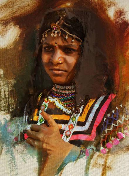 Maryam Wall Art - Painting - 025 Sindh B by Maryam Mughal