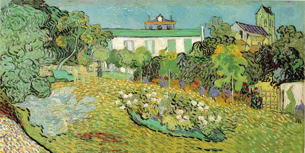 Painting - Daubignys Garden by Vincent Van Gogh
