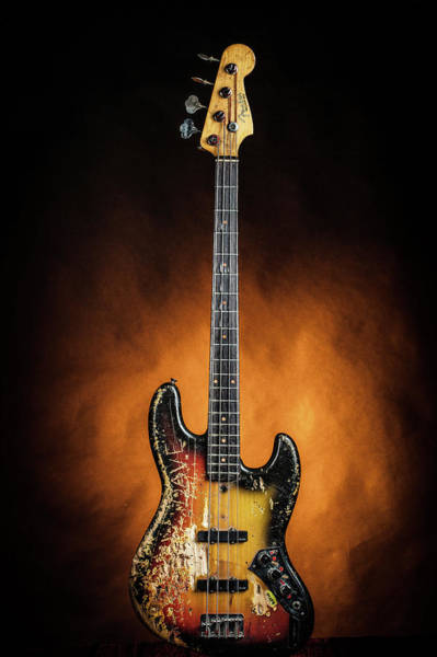 Photograph - 05.1834 011.1834c Jazz Bass 1969 Old 69 by M K Miller