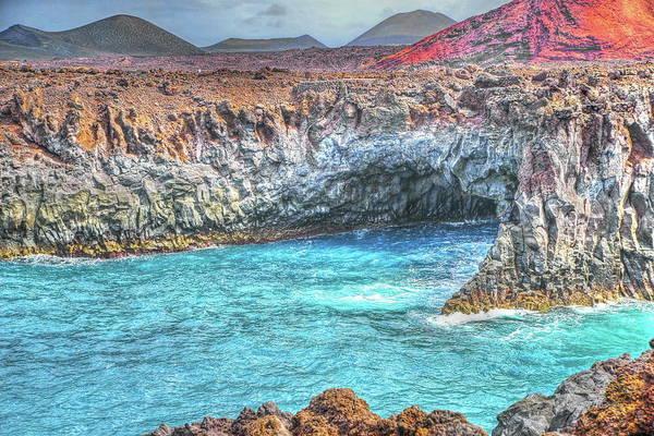 Lanzarote Digital Art - 063 by Mark Brooks