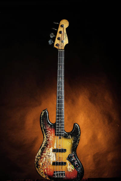 Photograph - 07.1834 011.1834c Jazz Bass 1969 Old 69 by M K Miller