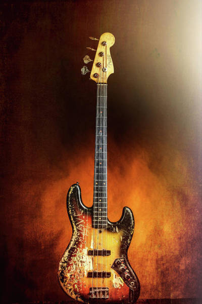 Photograph - 08.1834 011.1834c Jazz Bass 1969 Old 69 by M K Miller