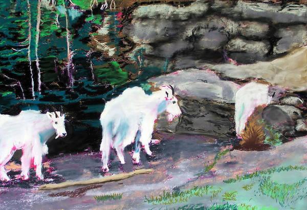 Digital Art - 08272007 Dali Sheep Logan Pass by Garland Oldham