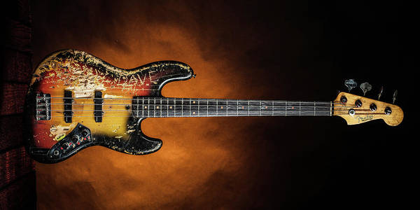 Photograph - 09.1834 011.1834c Jazz Bass 1969 Old 69 by M K Miller