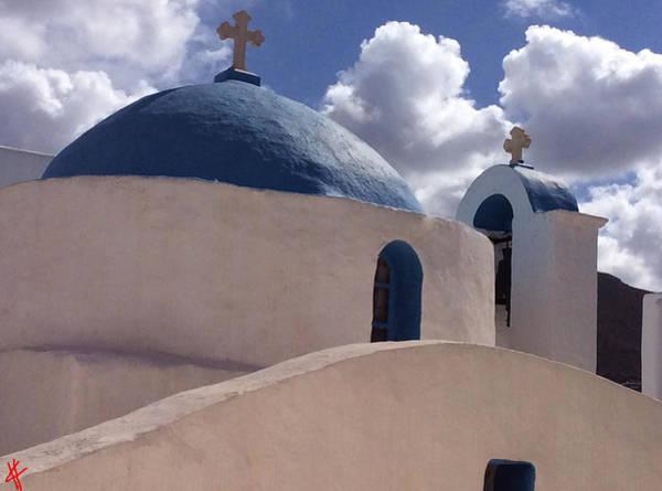 Photograph - 0rthodox Church Paros Island by Colette V Hera  Guggenheim