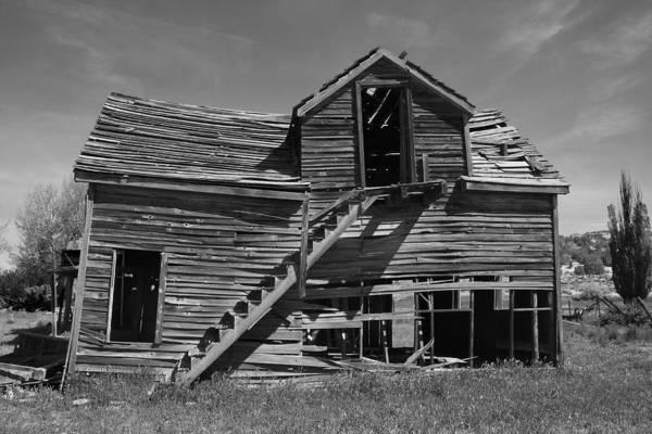 Photograph -  Americana Gunsmoke Movie Set by Mark Smith