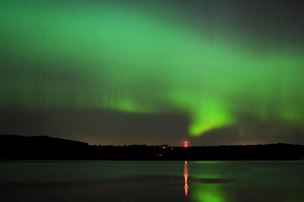 Photograph -  Aurora Over The Beauly Firth by Gavin Macrae