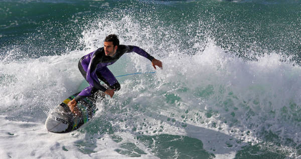 Surf Photograph - ~~/~~~~~~~~~ by Eyal Bussiba