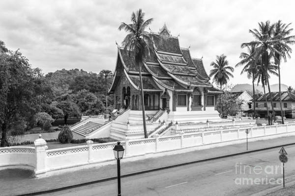 Photograph -  Haw Pha Bang Temple In Luang Prabang In Laos by Didier Marti