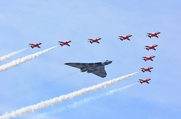 Vulcan Bomber Photograph -  The Last by Jason Green
