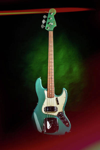 Photograph - 004.1834 Fender 1965 Jazz Bass Color by M K Miller