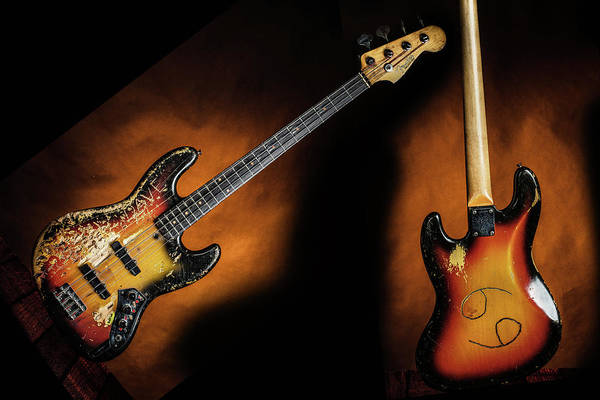 Photograph - 04.1834 011.1834c Jazz Bass 1969 Old 69 by M K Miller
