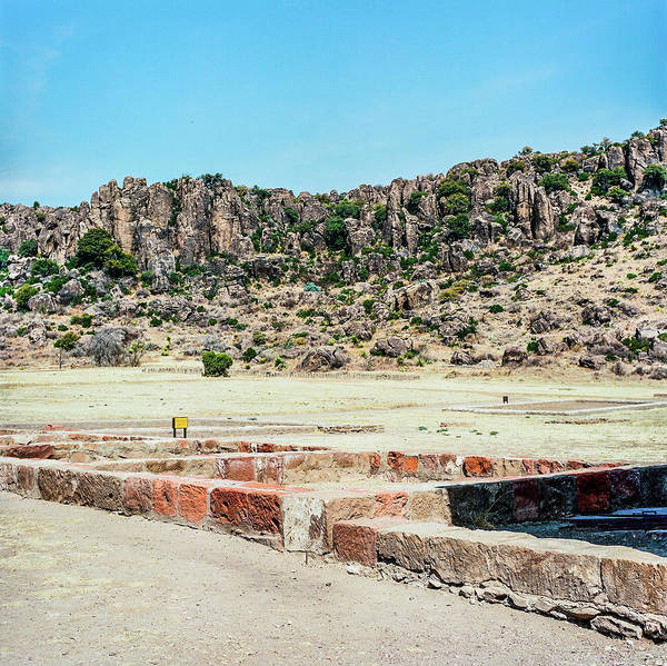 Photograph - 1009.010 Fort Davis Texas In Color by M K Miller