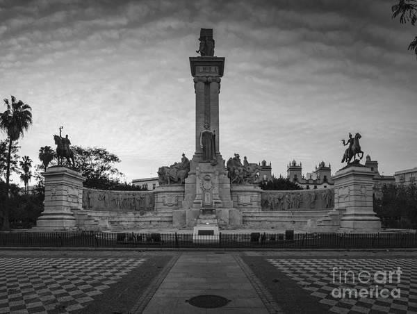 Photograph - 1812 Constitution Centennial Memorial Cadiz Spain by Pablo Avanzini