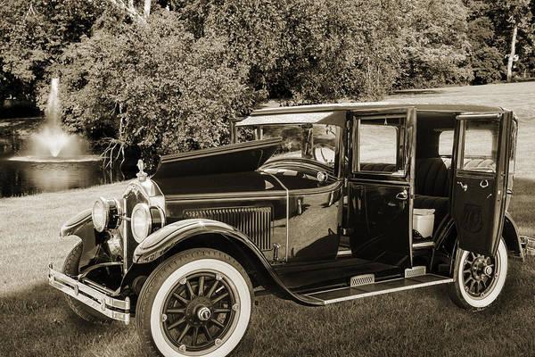 Photograph - 1924 Buick Duchess Antique Vintage Photograph Fine Art Prints 10 by M K Miller