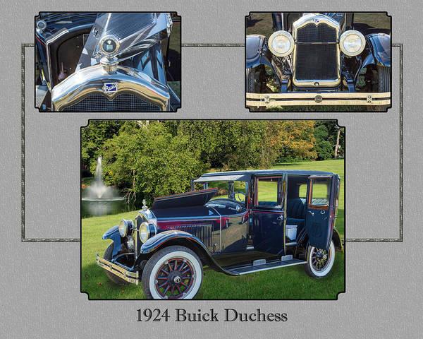 Photograph - 1924 Buick Duchess Antique Vintage Photograph Fine Art Prints 120    by M K Miller