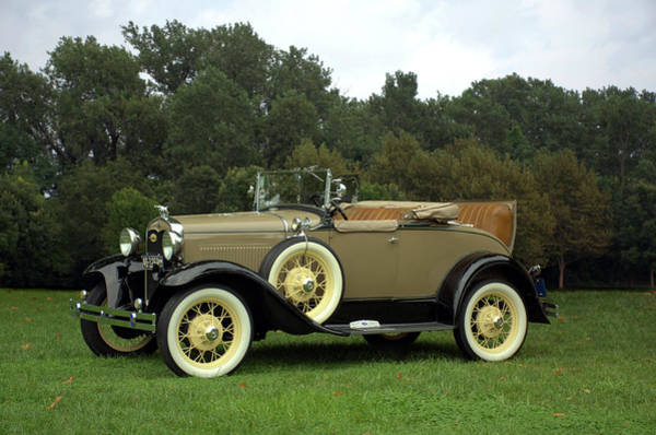 Photograph - 1931 Ford Model A Roadster by Tim McCullough
