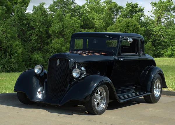 Photograph - 1933 Plymouth Coupe Hot Rod by Tim McCullough