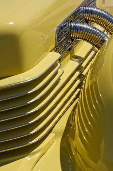 Photograph - 1937 Cord 812 Phaeton by Jill Reger