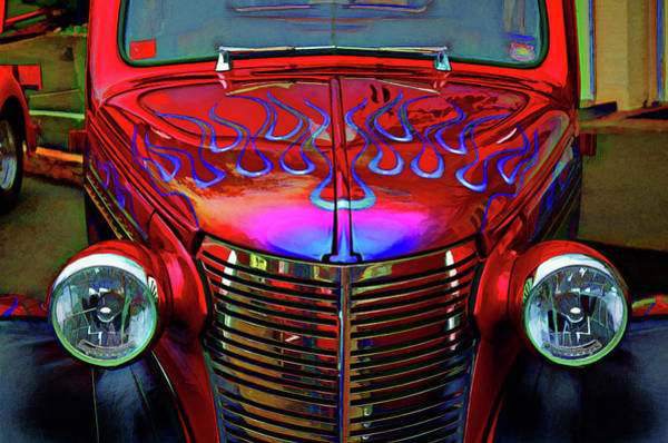 Digital Art - 1938 Chevy by Richard Farrington