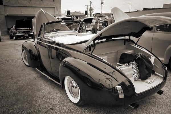 Photograph - 1940 Mercury Convertible Vintage Classic Car Photograph 5217.01 by M K Miller