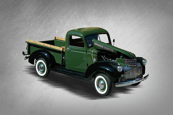 Wall Art - Photograph - 1941 Chevy Pickup Truck by Nick Gray